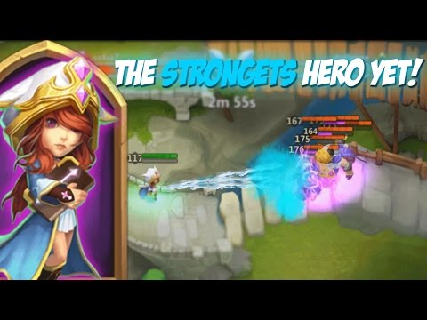 Probably The STRONGEST Hero In Castle Clash!