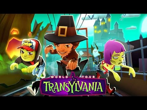 Subway Surfers Transylvania 2016 (Halloween Edition)