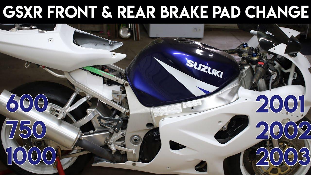 for Suzuki GSXR GSXR 1000 GSXR 600 GSXR 750 NEW Motorcycle Disc BRAKE PAD REAR