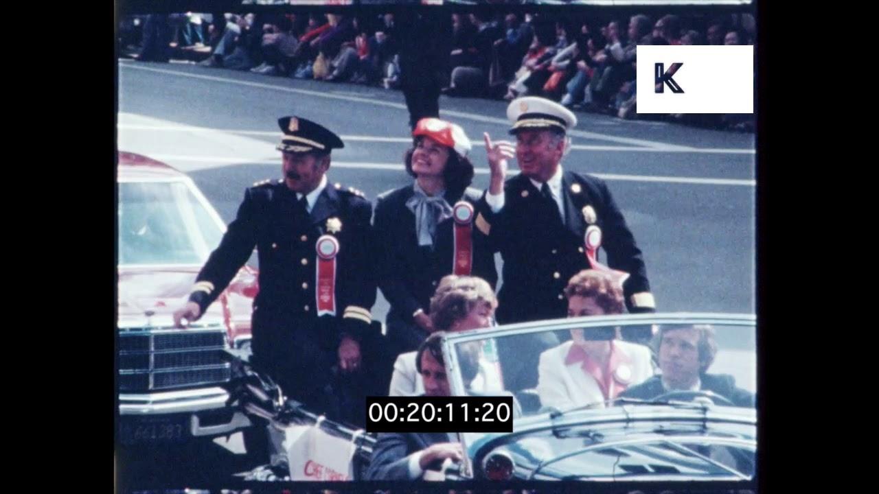 1980 Columbus Day Parade Italian American San Francisco Hd Youtube