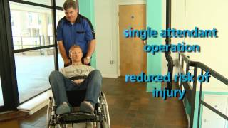 SwallowEMP - Stair Mate powered evacuation chair and wheelchair lift