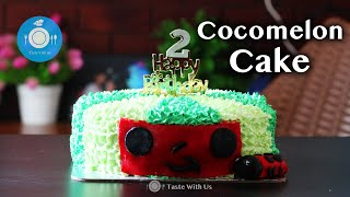 Cocomelon cake  How to make kids special Cocomelon cake without oven  Kids favourite birthday cake