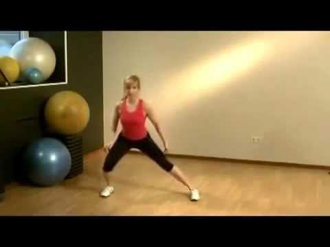 Фитнес дома для начинающих  Урок №1