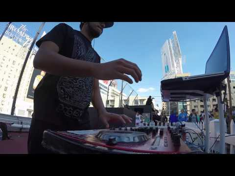 DJing on a Hollywood Rooftop | NYE 2017