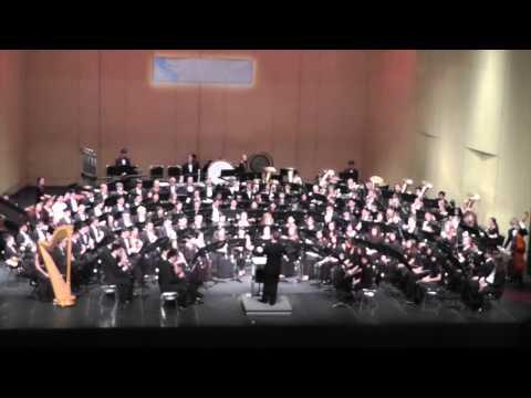 All-State CBDA CASMEC High School Honor Band Concert Band 2015 Performance
