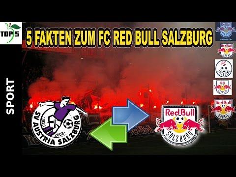5 FAKTEN ZUM FC RED BULL SALZBURG (Mateschitz Soriano Bundesliga Kampl Mane RB Leipzig)