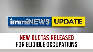 Occupation Ceilings UPDATED! Nęw Quotas Released