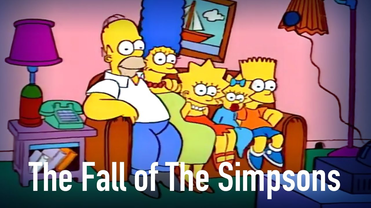 The Fall of The Simpsons: How it Happened