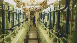 DAS BOOT - Rundgang durch U 995 Laboe - tour on German U-Boat / submarine of world war II