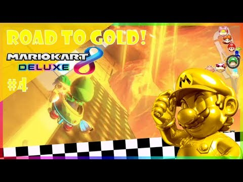ROAD TO GOLD #4 - The Special Cup! (200cc)   Mario Kart 8 Deluxe