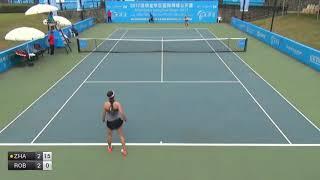 Zhang Ying v Robson Laura - 2017 ITF Shenzhen