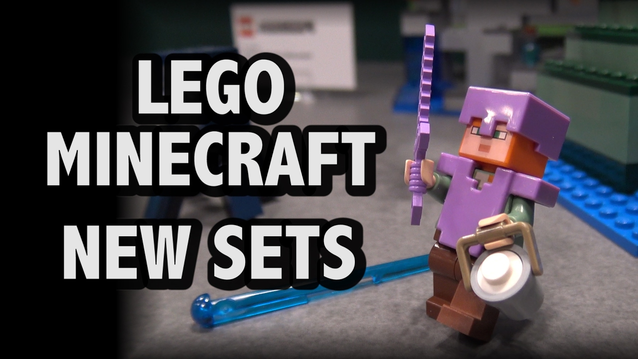 LEGO Minecraft 2017 Sets New York Toy Fair YouTube
