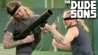 Cheating At Blindfolded Tennis! | Follow The Leader