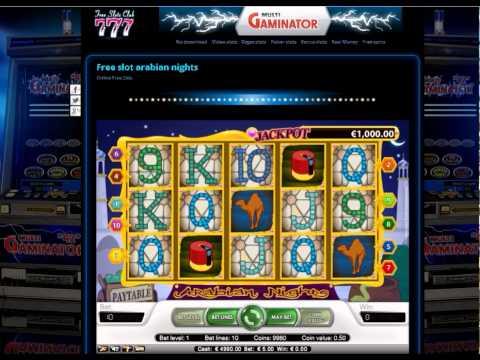 Free slot Arabian Nights at www.free-slots-club.org