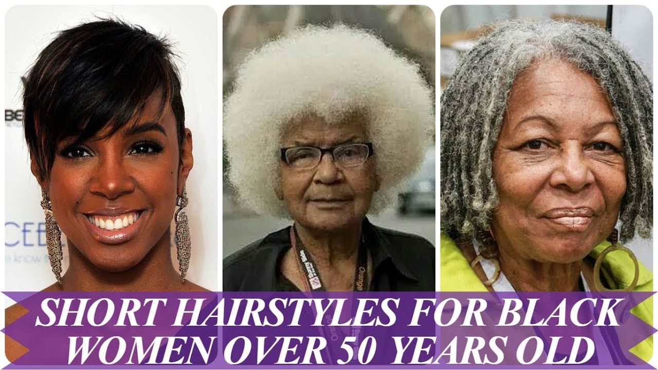 20 short hairstyles for black women over 50 years old 2018