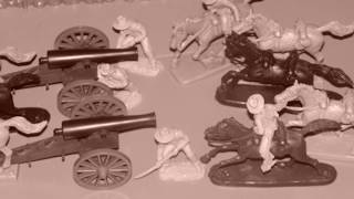 Cavalry Charge at 1:32 Scale