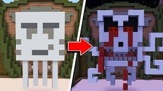 Minecraft: SÓ POSSO FAZER CONSTRUÇÕES ASSUSTADORAS! 4 (BUILD BATTLE)