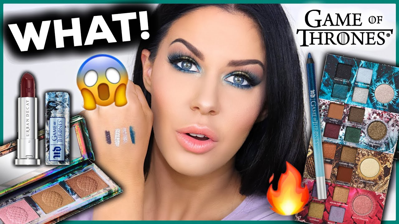 URBAN DECAY GAME OF THRONES MAKEUP COLLECTION!! IS IT WORTH THE MONEY??