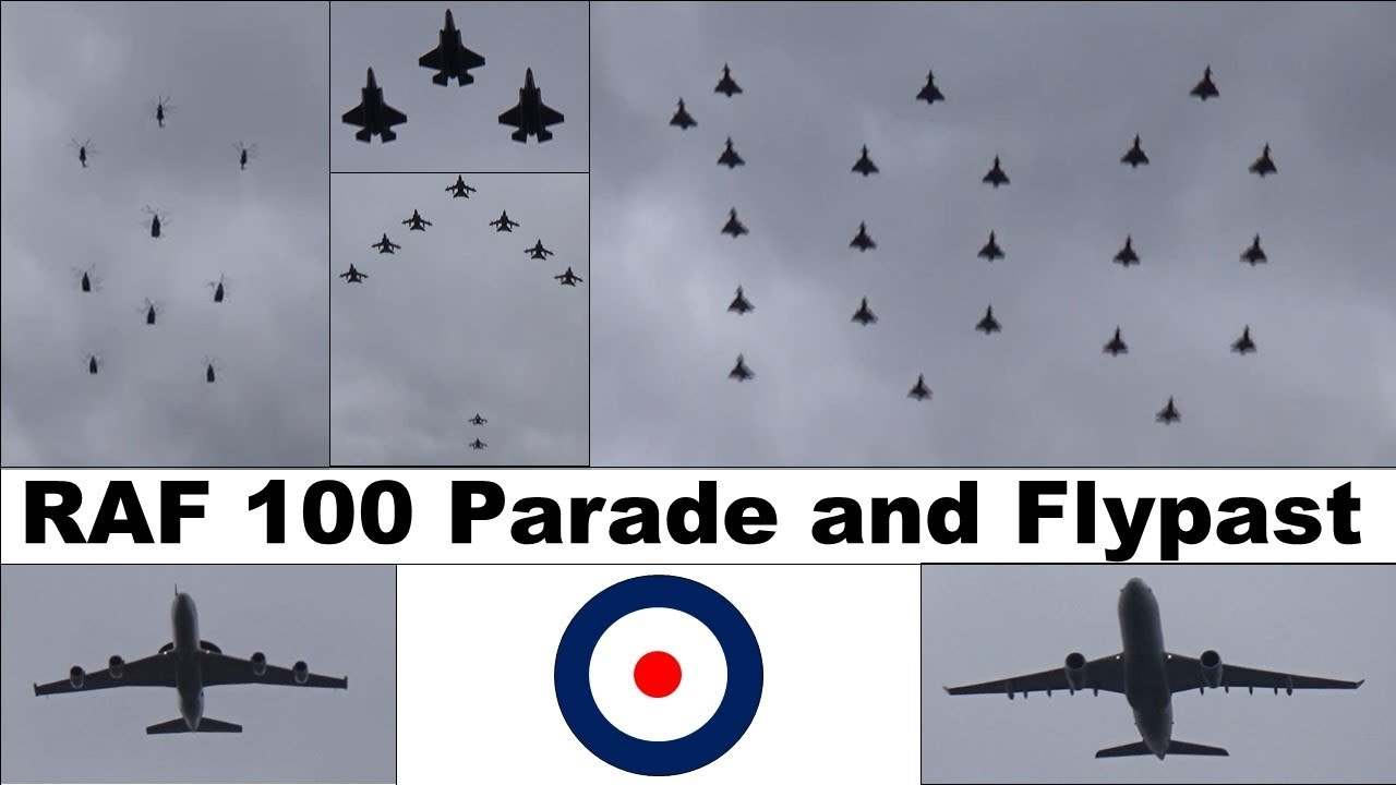 Raf 100 Parade And Flypast Highlights 2018 Youtube
