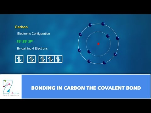 BONDING IN CARBON THE  COVALENT BOND