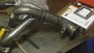ваз 21014 удаление катализатора и установка обманку , на лямбда #Samir_Usta