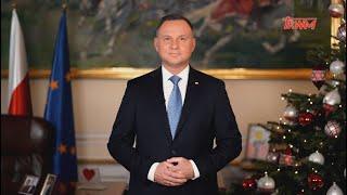 Orędzie noworoczne prezydenta RP Andrzeja Dudy