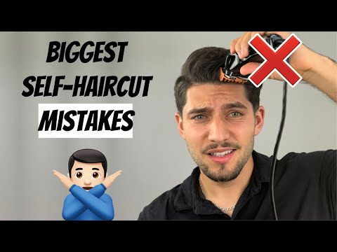 Top 10 BIGGEST Self-Haircut Mistakes To Avoid