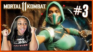 MY BABY IS COLD!! | Mortal Kombat 11 Story Mode Episode 3