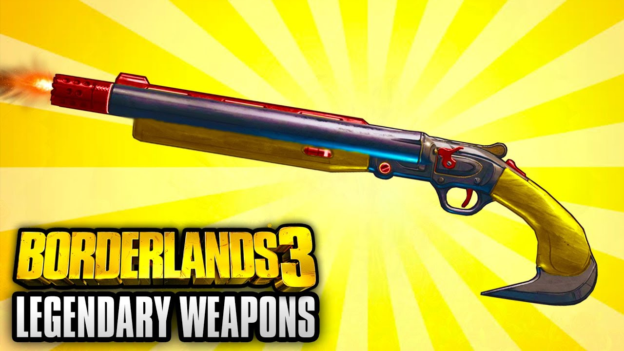 Borderlands 3 - Top 5 Legendary Weapons SEEN SO FAR! thumbnail