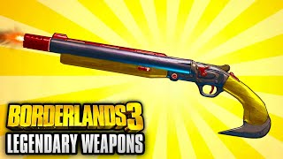 Borderlands 3 - Top 5 Legendary Weapons SEEN SO FAR!