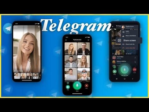 VIDEOLLAMADAS GRUPALES Y COMPARTIR PANTALLA en Telegram ya es POSIBLE!