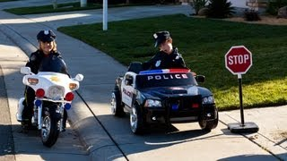 Power Wheels Police Cars