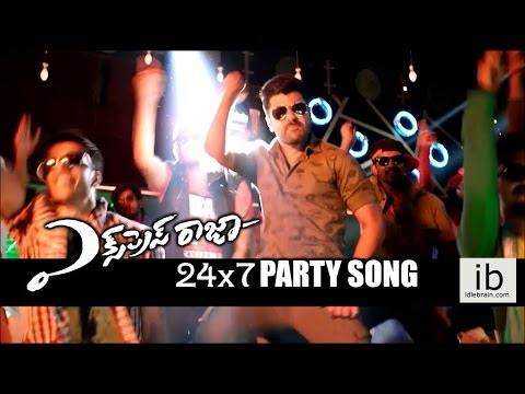 Express Raja 24/7 Party song trailer - idlebrain