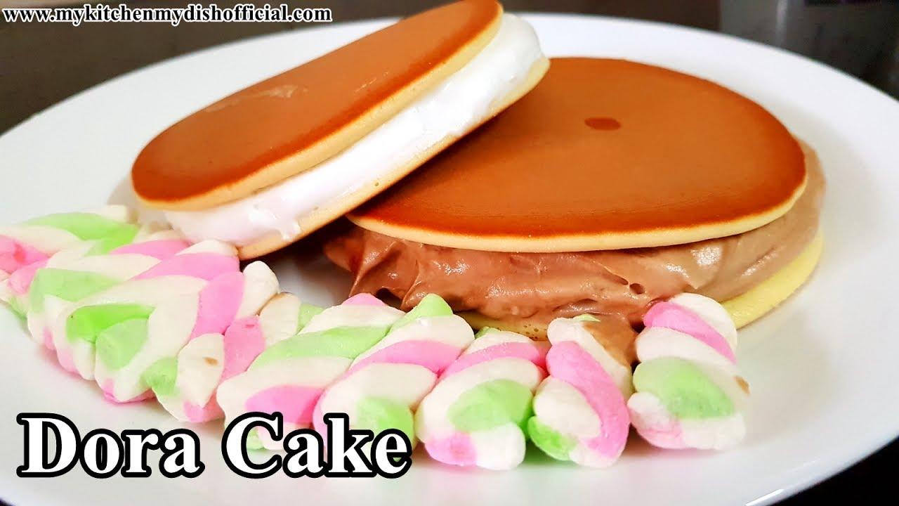 Dora (Doraemon) Cake Recipe