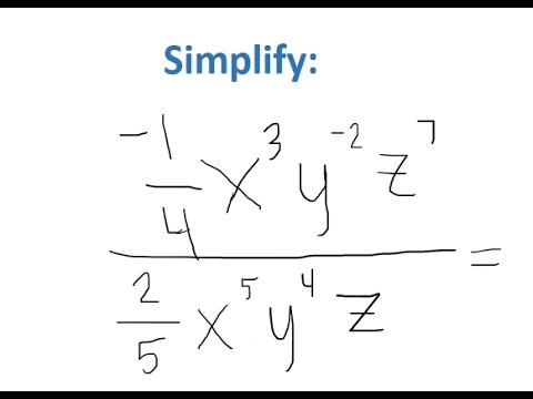 how to solve simplify expressions