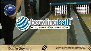 bowlingball.com Brunswick Fanatic Bowling Ball Reaction Video Review