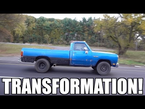 HUGE 1 DAY TRANSFORMATION FOR THE NEW CUMMINS TRUCK!!!