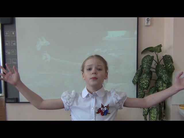 Изображение предпросмотра прочтения – СофьяТоршина читает произведение «Товарищ» К.М.Симонова