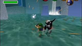 Zelda OOT Hack: Dark Link in Zora
