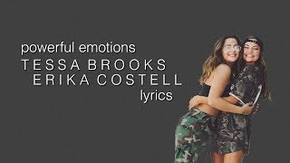 Tessa Brooks - Powerful Emotions (lyrics)