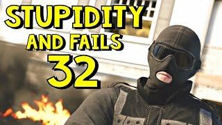 Rainbow Six Siege | Stupidity and Fails 32