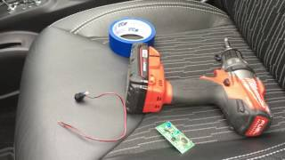 jeep wrangle garage door opener hack mod