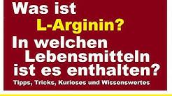 Was ist L-Arginin und in welchen Lebensmitteln ist es anthalten Wirkung Aminosure Bluthochdruck