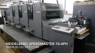 видео Heidelberg Speedmaster