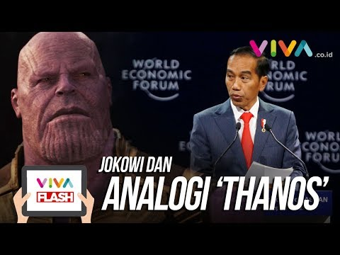 "Analogi ""Thanos"" Jokowi Dalam Kondisi Ekonomi Global"