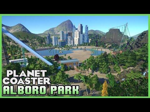 ALBORO PARK! Hawaii Inspired Park! Park Spotlight 72 #PlanetCoaster