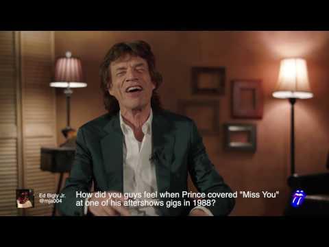 Mick Jagger - Blue & Lonesome - Fan Twitter Q&A