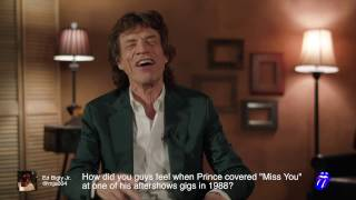 Mick Jagger - Blue & Lonesome - Fan Twitter Q&A
