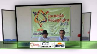 Abertura da Jornada Pedagógica 2014, em Heliópolis - Bahia.