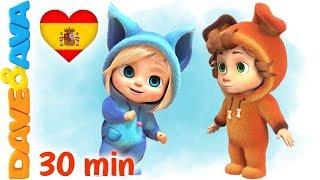 💞 Rema, Rema, Rema el Bote y Más Videos para Bebés   Dave y Ava 💞